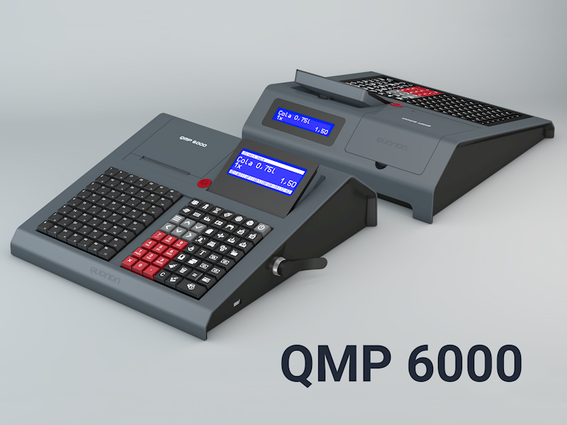QUORiON presents the QMP 6000 Cash Register Series